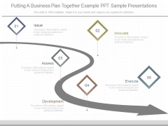 Putting A Business Plan Together Example Ppt Sample Presentations