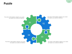 Puzzle Circular Process Ppt PowerPoint Presentation Model Topics