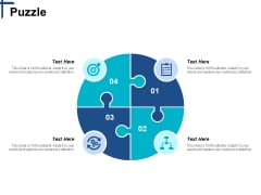Puzzle Competitive Differentiation Ppt PowerPoint Presentation Icon Slide