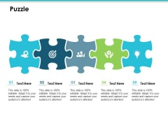 Puzzle Employee Value Proposition Ppt PowerPoint Presentation Summary Topics