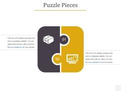 Puzzle Pieces Ppt PowerPoint Presentation Summary Slideshow