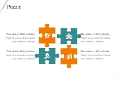Puzzle Ppt PowerPoint Presentation Backgrounds
