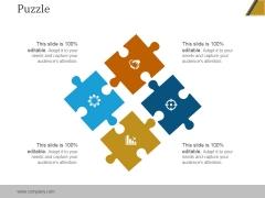 Puzzle Ppt PowerPoint Presentation Deck