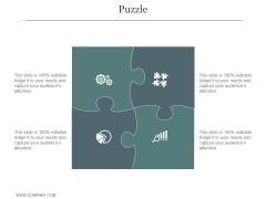 Puzzle Ppt PowerPoint Presentation Design Templates