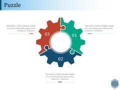 Puzzle Ppt PowerPoint Presentation Diagram Lists