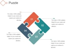 Puzzle Ppt PowerPoint Presentation Example
