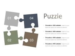 Puzzle Ppt PowerPoint Presentation File Graphics Tutorials