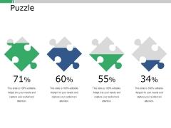 Puzzle Ppt PowerPoint Presentation File Portfolio