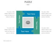 Puzzle Ppt PowerPoint Presentation File Structure