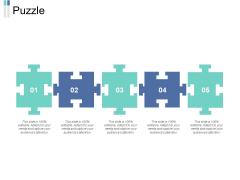 Puzzle Ppt PowerPoint Presentation Gallery Portrait