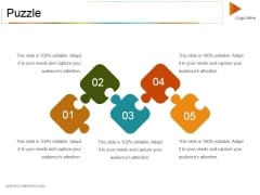 Puzzle Ppt PowerPoint Presentation Gallery Shapes