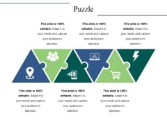 Puzzle Ppt PowerPoint Presentation Gallery Slide Download