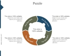 Puzzle Ppt PowerPoint Presentation Graphics