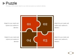 Puzzle Ppt PowerPoint Presentation Icon Outfit