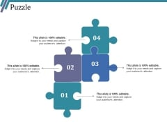 Puzzle Ppt PowerPoint Presentation Icon Professional