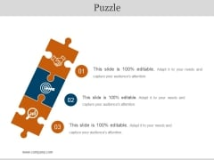 Puzzle Ppt PowerPoint Presentation Ideas Examples