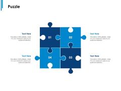 Puzzle Ppt PowerPoint Presentation Ideas Slides