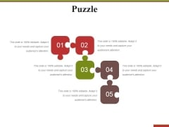 Puzzle Ppt PowerPoint Presentation Infographics Diagrams