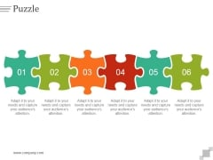 Puzzle Ppt PowerPoint Presentation Infographics