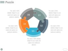 Puzzle Ppt PowerPoint Presentation Inspiration Deck