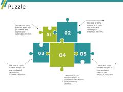 Puzzle Ppt PowerPoint Presentation Inspiration Skills