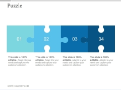 Puzzle Ppt PowerPoint Presentation Inspiration