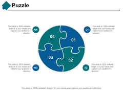 Puzzle Ppt PowerPoint Presentation Inspiration Themes