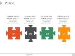 Puzzle Ppt PowerPoint Presentation Introduction