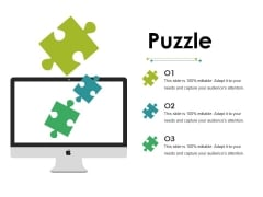 Puzzle Ppt PowerPoint Presentation Layouts Good