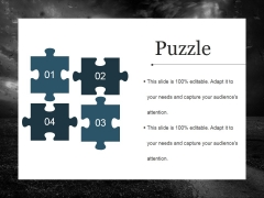 Puzzle Ppt PowerPoint Presentation Layouts Grid
