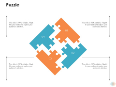 Puzzle Ppt PowerPoint Presentation Model Display