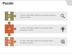 Puzzle Ppt PowerPoint Presentation Model Files