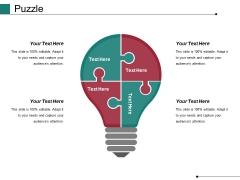 Puzzle Ppt PowerPoint Presentation Model Maker