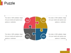 Puzzle Ppt PowerPoint Presentation Model Objects