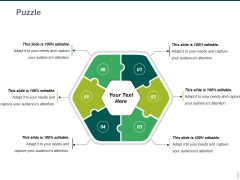puzzle ppt powerpoint presentation model show