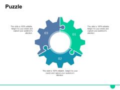 Puzzle Ppt PowerPoint Presentation Model Slides