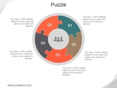 Puzzle Ppt PowerPoint Presentation Outline Example