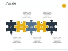 Puzzle Ppt PowerPoint Presentation Outline Graphic Tips