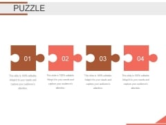 Puzzle Ppt PowerPoint Presentation Outline Layouts