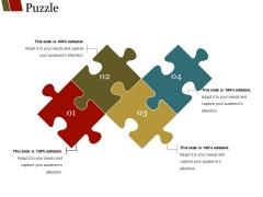 Puzzle Ppt PowerPoint Presentation Outline Slide Portrait