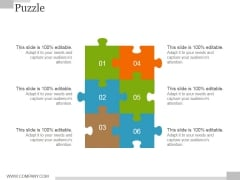 Puzzle Ppt PowerPoint Presentation Outline Template