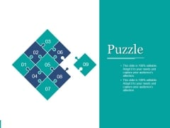 Puzzle Ppt PowerPoint Presentation Pictures Inspiration