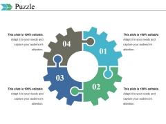 Puzzle Ppt PowerPoint Presentation Portfolio Background
