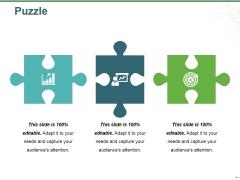 Puzzle Ppt PowerPoint Presentation Portfolio Designs