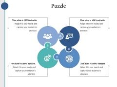 Puzzle Ppt PowerPoint Presentation Portfolio Graphics Example