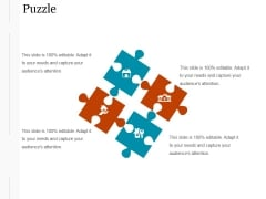 Puzzle Ppt PowerPoint Presentation Professional
