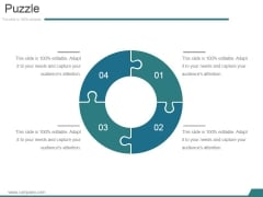 Puzzle Ppt PowerPoint Presentation Sample