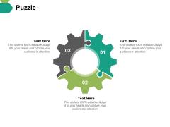 Puzzle Ppt PowerPoint Presentation Show Slideshow