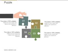 Puzzle Ppt PowerPoint Presentation Slide Download