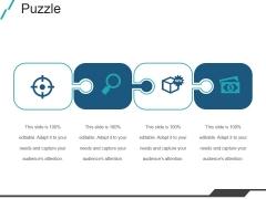Puzzle Ppt PowerPoint Presentation Slides Aids